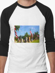Stone Row Men's Baseball ¾ T-Shirt