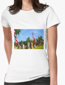 Stone Row Womens Fitted T-Shirt