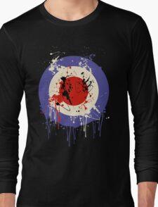Mod Drip Splatter Long Sleeve T-Shirt