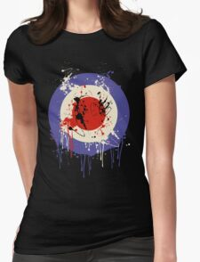 Mod Drip Splatter Womens Fitted T-Shirt