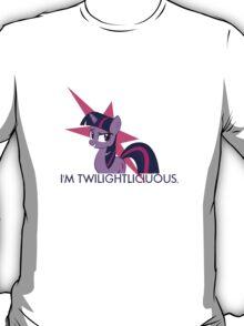 TwilightLicious - Twilight sparkle T-Shirt