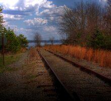Lakeside Tracks by Okeesworld