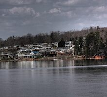 Ghost Town by the Lake by Okeesworld
