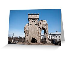 Elephant of the Bastille Greeting Card