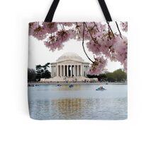 Blossoms Over Jefferson Tote Bag