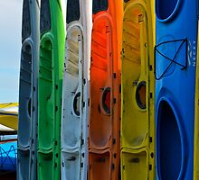 Kayak Close Up by HanieBCreations