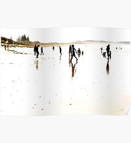 A Beach Moment - Seven Mile Beach Poster