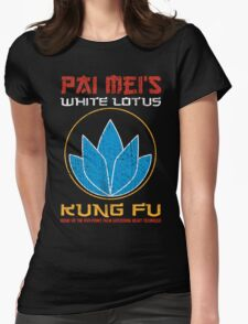 Your so-called kung-fu is really quite pathetic Womens Fitted T-Shirt