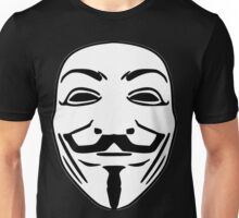 Guy Fawkes anonymous Unisex T-Shirt