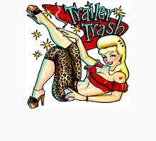 Trailer Trash Rockabilly chic Women's Fitted Scoop T-Shirt