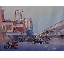 panchsheel square,NAGPUR.. Photographic Print