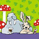 Happy hour in the Wonderland pub by Matt Mawson
