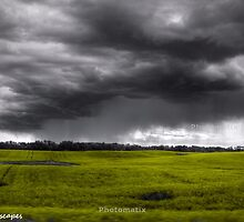 Late summer prairie storm by Erykah36
