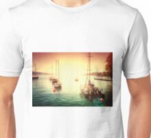 Lake-light at Zurich Unisex T-Shirt