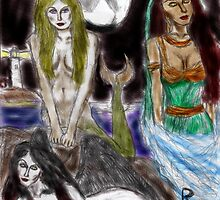 the mermaid, the djinneyeh, the succubus by richt63