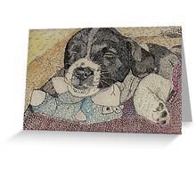 Baby Rocky Greeting Card
