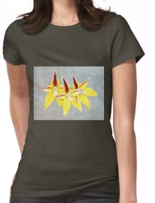 Cowslip Orchid (Caladenia flava) Womens Fitted T-Shirt