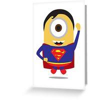 #SUPER#MINION# Greeting Card