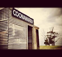 The still aging Coonawarra Train Station by Catherine C.  Turner