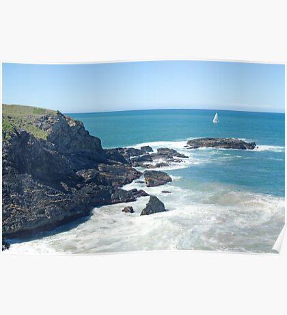 McCauleys Headland, Coffs Harbour Regional Park, NSW Poster