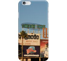 Downtown Disney iPhone Case/Skin