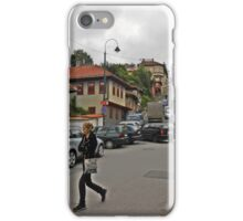 A streetscape iPhone Case/Skin