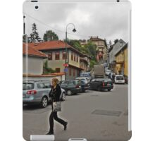 A streetscape iPad Case/Skin
