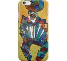 The Accordionist iPhone Case/Skin