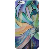 Middle Eastern Belly Dance With Pastel Veils iPhone Case/Skin