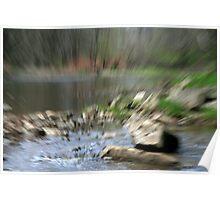 Springtime Along The River Poster