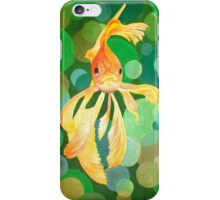 Vermilion Goldfish iPhone Case/Skin