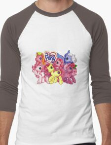 Vintage My Little Pony Men's Baseball ¾ T-Shirt