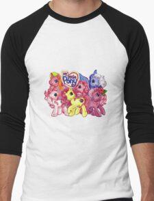 Vintage My Little Pony Men's Baseball ¾ T-Shirt