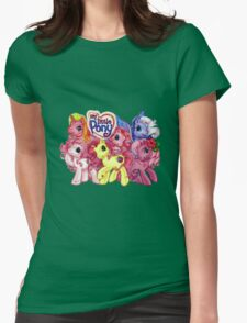 Vintage My Little Pony Womens Fitted T-Shirt