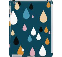Playing in the Prussian Blue Rain iPad Case/Skin
