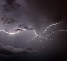 Cloudy Lightning by Marc  Rossmann