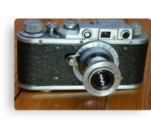 photo camera Canvas Print