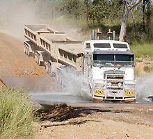 trucks at work  by peter ryan