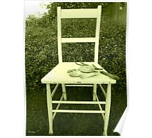 Jardin Chaise Poster