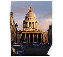 Panthéon, Paris, France Poster