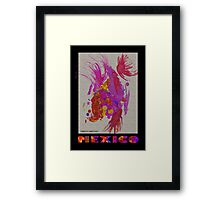 Aztec #2, Mexico Framed Print