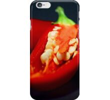 Capiscum Seeds iPhone Case/Skin