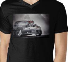 MAAD SS Burnout Mens V-Neck T-Shirt