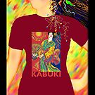 Kabuki, Wearable Art by luvapples downunder/ Norval Arbogast