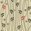 Doodle flowers by Nataliia-Ku