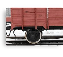 old boxcar Canvas Print