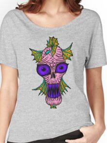 Monster Mondays #1 - Fishy Monster - Pink Women's Relaxed Fit T-Shirt