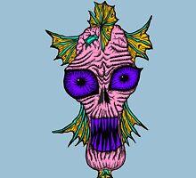 Monster Mondays #1 - Fishy Monster - Pink Unisex T-Shirt