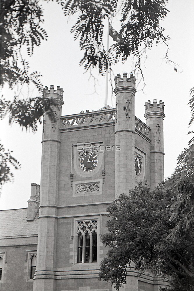 Northern Clock Face—Government House, Hobart by Brett Rogers