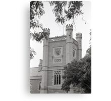 Northern Clock Face—Government House, Hobart Canvas Print